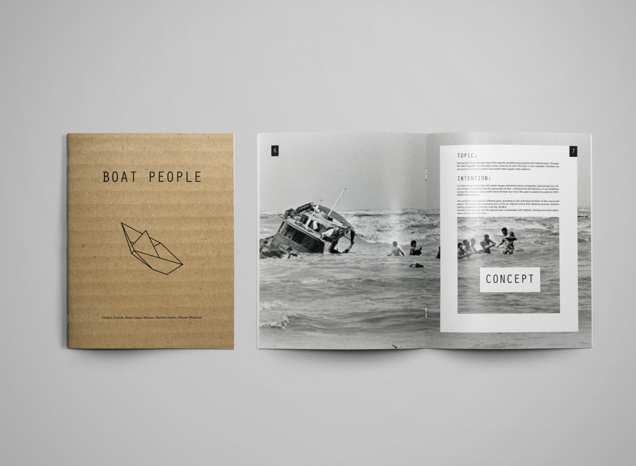 BOAT PEOPLE Editorial Design