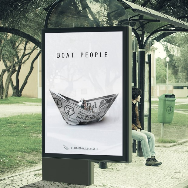 BOAT PEOPLE PLAKAT